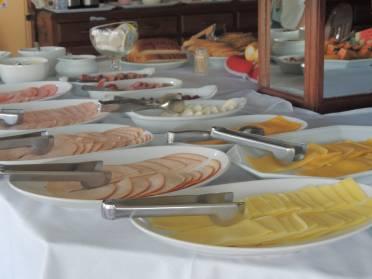 Café da manhã Hotel Beira Rio